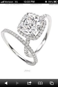 My dream wedding ring. Tiffany and co