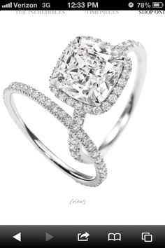 My dream wedding ring. Tiffany and co