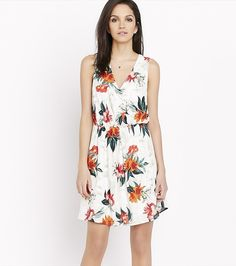 DYNAMITE 40$   Fit And Flare Dress With Back Detail