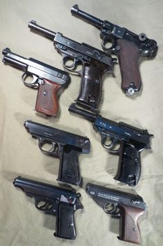 German pistols. beautiful collection ... half of it is what I need to complete…