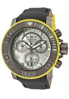 Price:$459.00 #watches Invicta 10713, With a bold, masculine design, Invicta chronograph has a poised and calm ambience that's sure to have you looking twice.