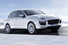 New Release 2016 Porsche Cayenne Turbo S Review Front Side View Model