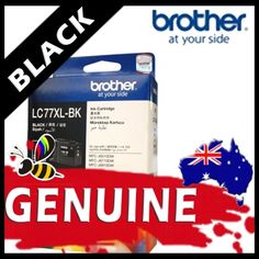 Brother LC77 XL Black Ink