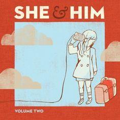 She & Him- Volume 2 Vinyl Record