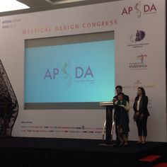 Opening speech by Francis (Chairman APSDA) & Lea Azis (General Secretary APSDA) on #apsda2014 #livefromapsda2014