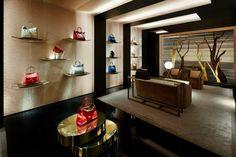 Fendi flagship store, Paris luxury