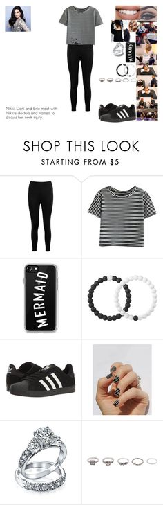 """Nikki, Dani and Brie meet with Nikki's doctors and trainers to discuss her neck injury."" by safia4life ❤ liked on Polyvore featuring Episode, Bellezza, Boohoo, Sephora Collection, Casetify, Lokai, adidas, SoGloss, Bling Jewelry and BKE"