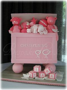 Christening toy box