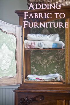 French Linen Press Make-over