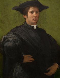 Rosso Fiorentino  Portrait of a Man, early 1520s