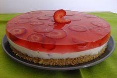 Mini Cheesecake, Portuguese Recipes, Portuguese Food, Semi Frio, Coco, Mousse, Jelly, Recipies, Strawberry