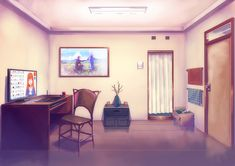 Simple Interior BG by fateline-alpha