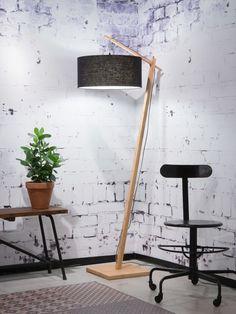 GOOD&MOJO - ANDES - Staande lamp - Zwart