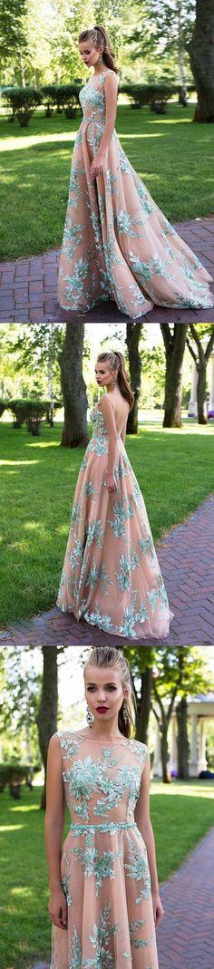 Blush pink green appliques with rhinestone sash elegant a-line prom dress M0363#prom #promdress #promdresses #longpromdress #promgowns #promgown #2018style #newfashion #newstyles #2018newprom#eveninggowns#blushpinkpromdress#greenappliques#rhinstonesash#elegantprom