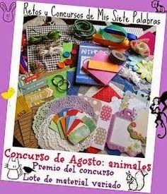 Crochet y demos: Concurso mis siete palabras
