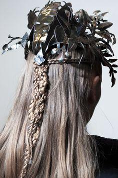 Backstage Beauty Ludovic Winterstan SS16 hair