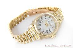 Rolex Lady Date 18k Gold Automatik Kal. 2030 Ref. 6917   153244   Zeitauktion