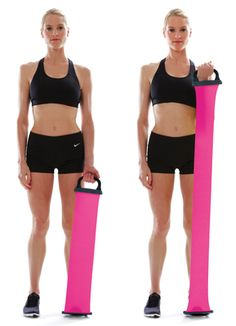 resistance band workout: get sexy, sculpted arms #