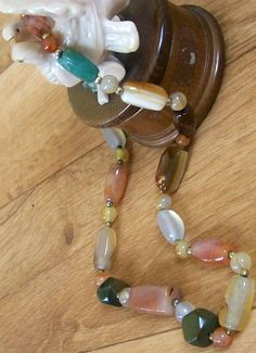 out of mexico  $70 agate necklace