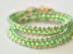 DIY-Anleitung: Perlen-Armband selber machen via DaWanda.com