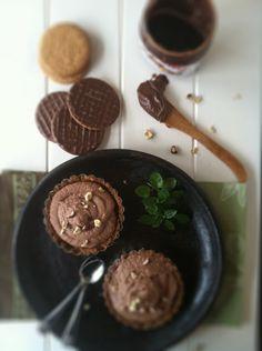 Nutella Mascarpone Chocolate Tarts