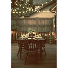 Your patio + our string lights = your Autumn paradise! #patiolights #outdoorlights #festoonlights #ledbulbs #autumn #decor #decoration #commerciallighting #bistrolights #fairylights #lights #homeandgarden #dinnerparty #designinspiration