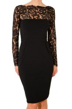 GUCCI VISCOSE JERSEY DRESS WITH LACE DETAIL