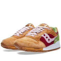 Les sneakers qui font de vos pieds des hamburgers stylés // @ Saucony x End Clothing
