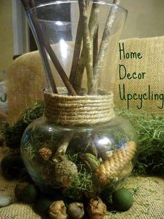 Upcycle Home Decor Vase