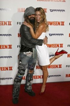 rob zombie and wife sheri moon