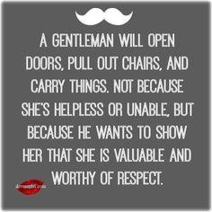 #GentlemansCode