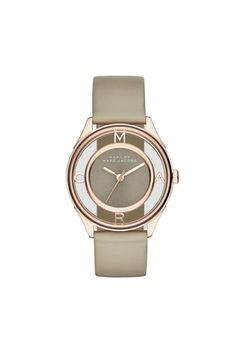 Marc Jacobs Online Store / tether 36 rose gold grey strap