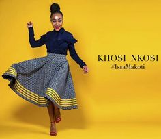 @khosinkosi African Print Fashion, Tribal Fashion, African Fashion Dresses, African Traditional Wear, Traditional Fashion, Traditional Wedding, African Attire, African Wear, Chitenge Dresses