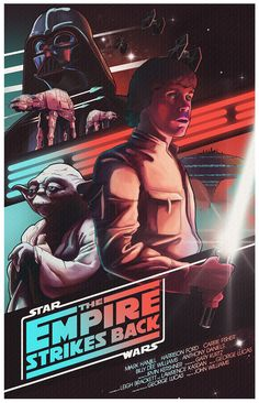 Star Wars Trilogy Posters - Created by Nicolas Barbera