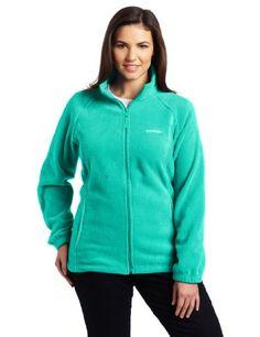 Columbia Women's Plus Size Benton Springs Full Zip Fleece Jacket ...
