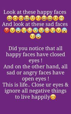 So always be happy . Happy Quotes, True Quotes, Words Quotes, Positive Quotes, Bff Quotes, Status Quotes, Attitude Quotes, Happy Birthday Quotes For Friends, Whatsapp Text