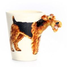 Airedale Terrier Mug, 30€, now featured on Fab.