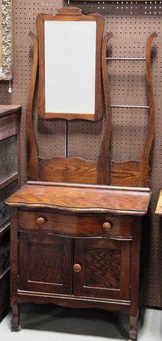 210 Best Antique Washstands Toilet Mirrors Images Powder Room