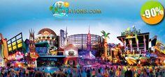 Orlando, Florida - $1,485 pesos en lugar de $15,300 por 7 Días de Vacaciones Inolvidables + Desayuno Diario + Transporte a Parques Temáticos para 4 Personas Click http://cupocity.com