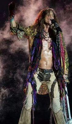 Steven Tyler of Aerosmith.