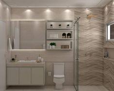 Discover more bathroom cabinets doors Washroom Design, Bathroom Design Small, Bathroom Interior Design, Modern Master Bathroom, Beige Bathroom, Kitchen Cabinets In Bathroom, Large Bathrooms, Bathroom Renovations, Bathroom Inspiration