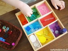 boite à couleur montessori