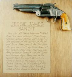 Jesse James' Smith & Wesson Single Action Revolver