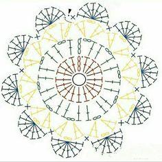 Crochet Doilies, Crochet Flowers, Crochet Lace, Crochet Stitches, Crochet Animal Amigurumi, Crochet Animals, Tea Coaster, Lana, Coasters
