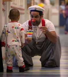 The Power of Clowning Around -pinned by @PediaStaff – Please Visit ht.ly/63sNtfor all our pediatric therapy pins