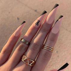 Bling Acrylic Nails, Drip Nails, Acrylic Nails Coffin Short, Aycrlic Nails, Best Acrylic Nails, Swag Nails, Kylie Nails, Coffin Shape Nails, Pink Nails