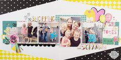 Shopping with Grammy - Double Page Multi Photo Layout by @jbckadams for @scrapbookexpo  using products from @cratepaper
