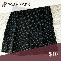 Black/white polka dot skirt Polka dot black/white cotton skirt H&M Skirts A-Line or Full