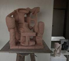 Chijyogunzo / Ryosuke Yazaki 2017 terracotta tonoko 着色に入ります。