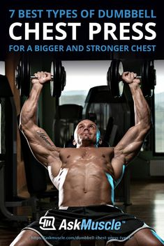 Stuck doing the same boring dumbbell chest press exercises? Try out these dumbbell chest press variations that'll help one build a strong, wide chest that almost seems bulletproof! Dumbbell Chest Workout, Chest Workout For Men, Chest Workouts, Fun Workouts, Shoulder Day Workout, Circuit Training Program, Muscular Development, Chest Muscles, Muscle Up